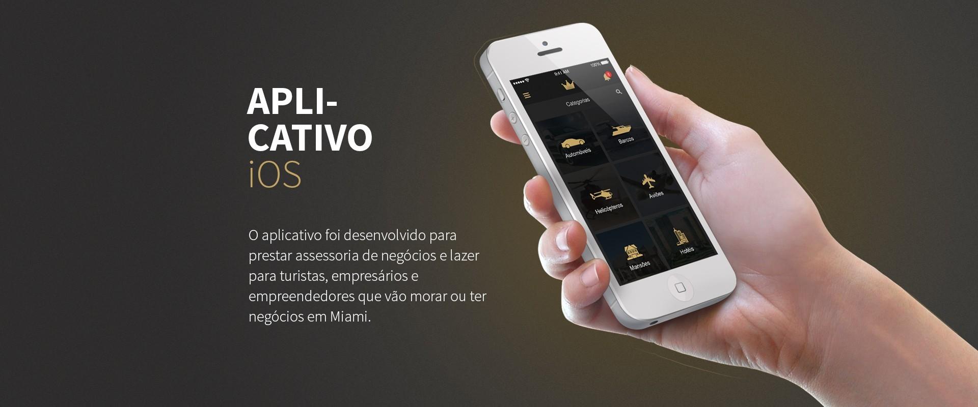 Aplicativo iOS I Mia Vip